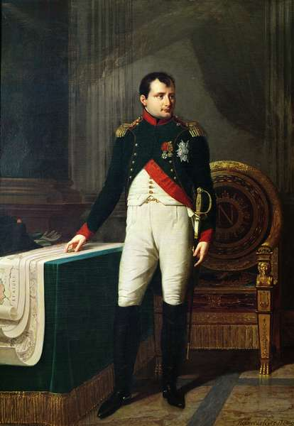 Portrait of Napoleon Bonaparte (1769-1821) 1809 (oil on canvas)