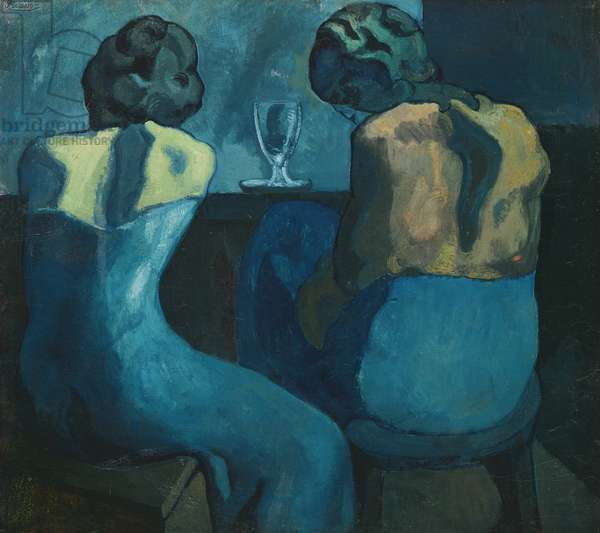 Two Women at a Bar, 1902 (oil on canvas)