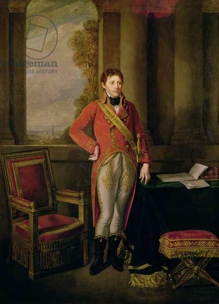 Napoleon Bonaparte (1769-1821) as First Consul, 1799-1805 (oil on canvas)