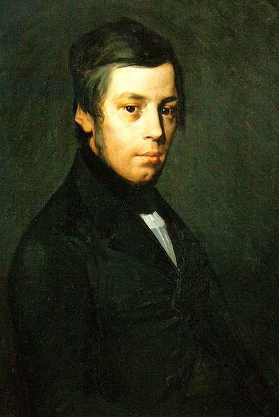 Portrait of Pierre Ono (oil on canvas)