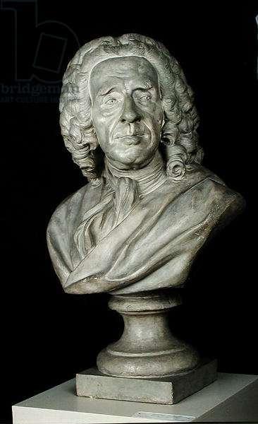 Bust of Bernard Le Bouvier de Fontenelle (1657-1757) (stone)