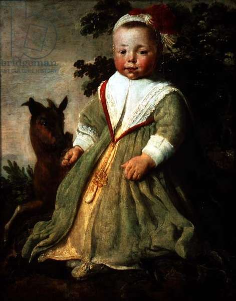 Portrait of a Child Aged Two, 1642 (oil on panel)