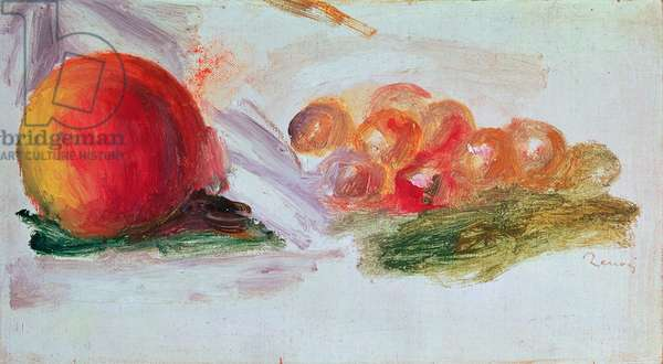 Fruit (oil on canvas)