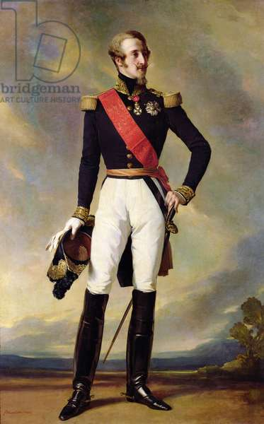 Louis-Charles-Philippe of Orleans (1814-96) Duke of Nemours, 1843 (oil on canvas)