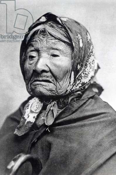 Princess Angelline (Kikisoblu) c.1895 (b/w photo)
