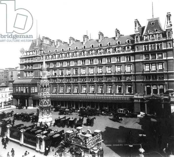 Charing Cross Station Hotel, c.1890 (photograph)