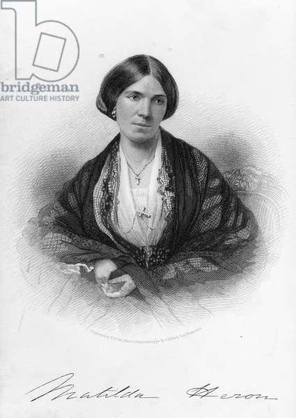 Matilda Heron (engraving)