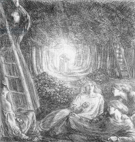 The Romantic Landscape, 1893 (litho)