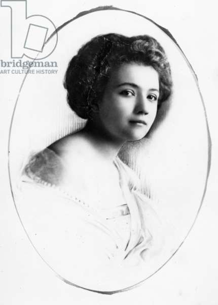 Baroness Budberg, c.1920s (b/w photo)