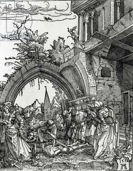 The Beheading of St. John the Baptist, 1512 (woodcut)