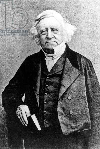Thomas Love Peacock (1785-1866) (b/w photo)