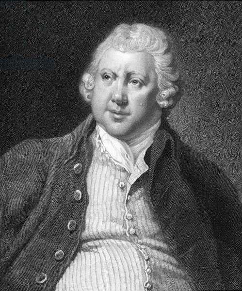 Sir Richard Arkwright (1732-92) (engraving)