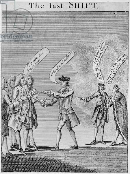 The Last Shift, 1765 (etching)