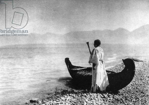 Kutenai Woman, 1910 (b/w photo)