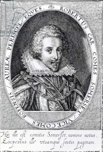 Robert Carr, 1st Earl of Somerset (engraving)