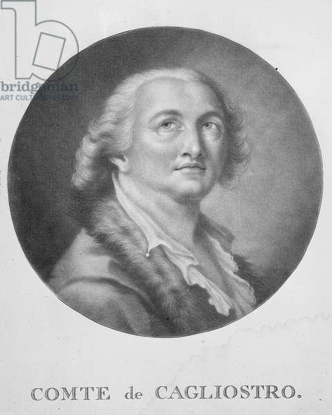 Comte de Cagliostro (engraving)