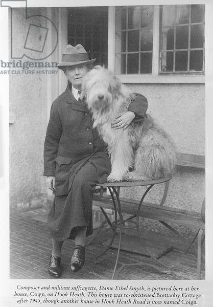 Ethel Smyth (b/w photo)