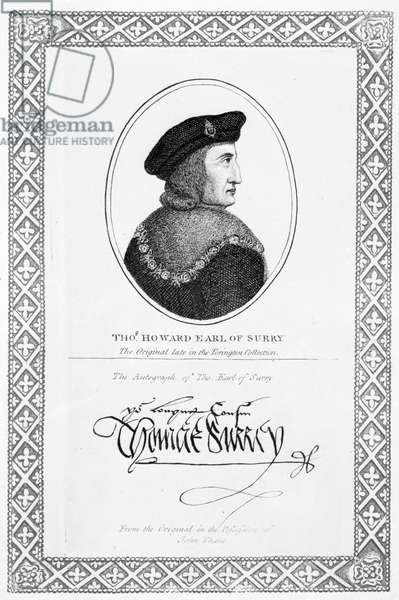 Thomas Howard, Earl of Surrey and 2nd Duke of Norfolk (engraving)