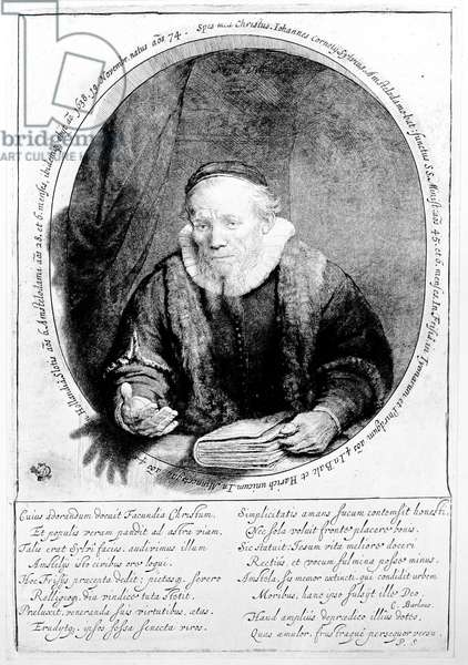 Jan Cornelisz Sylvius, 1646 (etching)