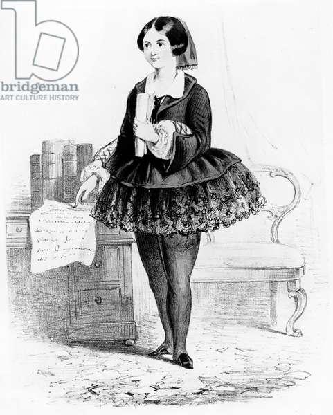 The Viscountess Wear'em, c.1880-1900 (lithograph)