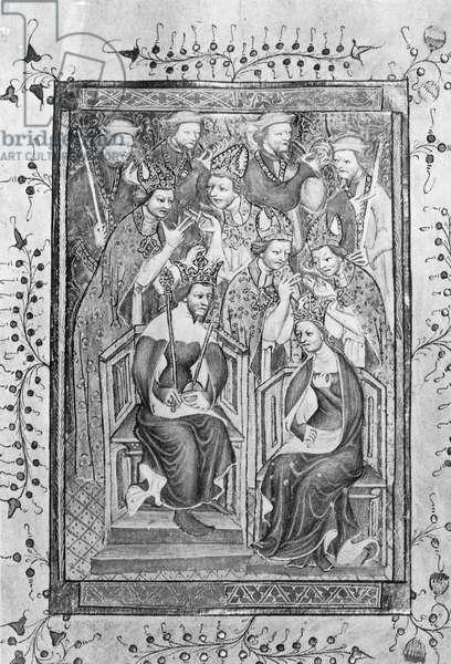 The Coronation of Richard II (vellum)