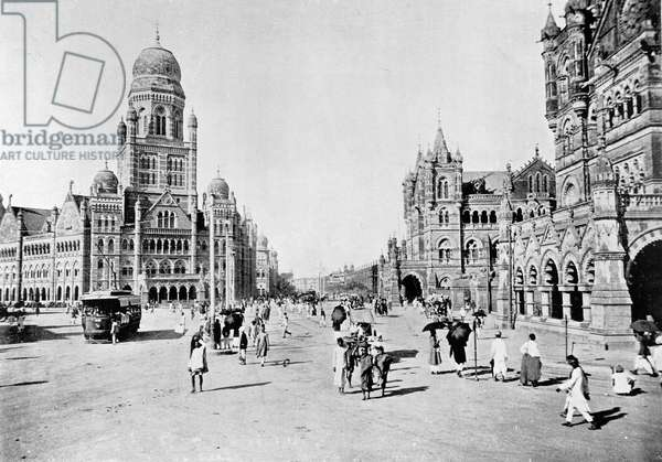 Municipal Offices and Victoria Terminus Bombay, c.1910 (photo)