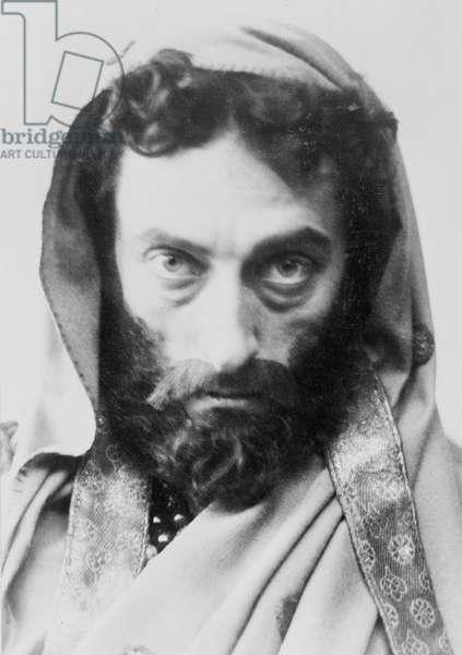 Johnston Forbes-Robertson as Leontes, 1887 (b/w photo)