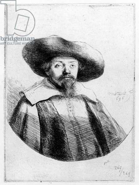 Samuel Manasseh Ben Israel, 1636 (etching)