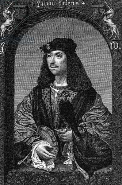 King James IV of Scotland, 1796 (engraving)