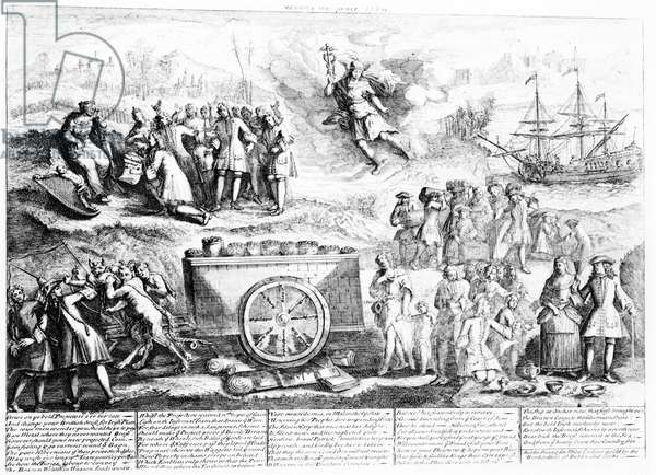 Wood's Halfpence, 1724 (engraving)