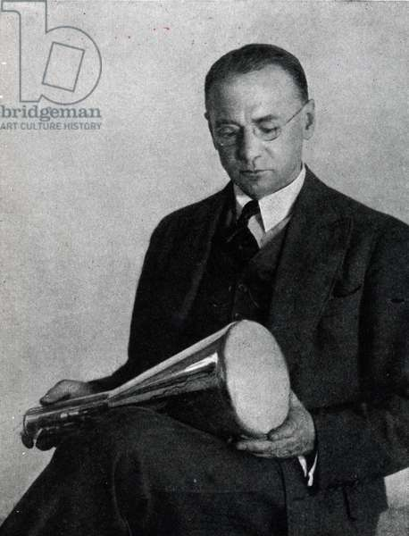 Dr Vladimir Zworykin, Inventor of the Iconoscope c.1950s (b/w photo)