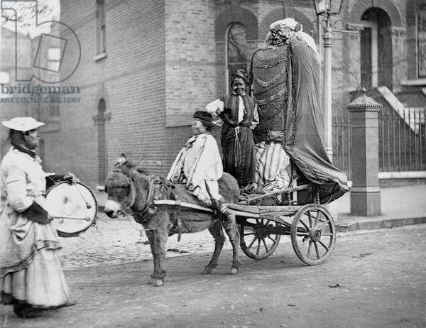November Effigies, 1877 (b/w photo)
