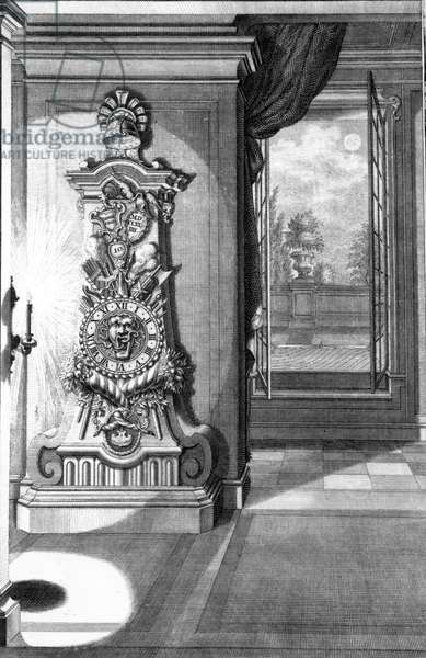 Clock, 1727 (engraving)