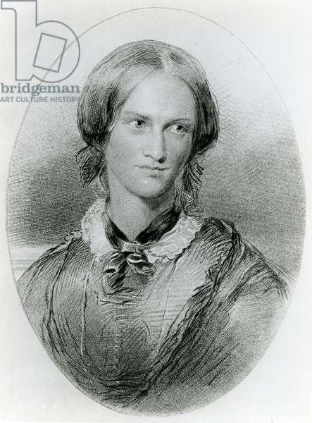Charlotte Bronte, engraved by James Charles Armytage, c.1850 (engraving)