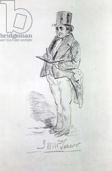 Joseph Mallord William Turner, 1844 (pencil on paper)
