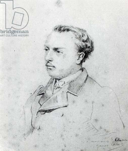 Emmanuel Chabrier aged 20, 1861 (crayon)
