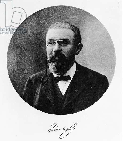 Henri Poincare (b/w photo)