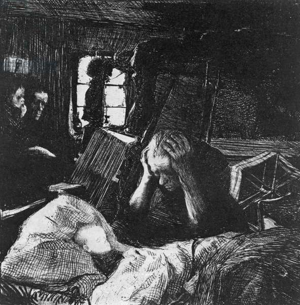 Need, 1897 (lithograph)