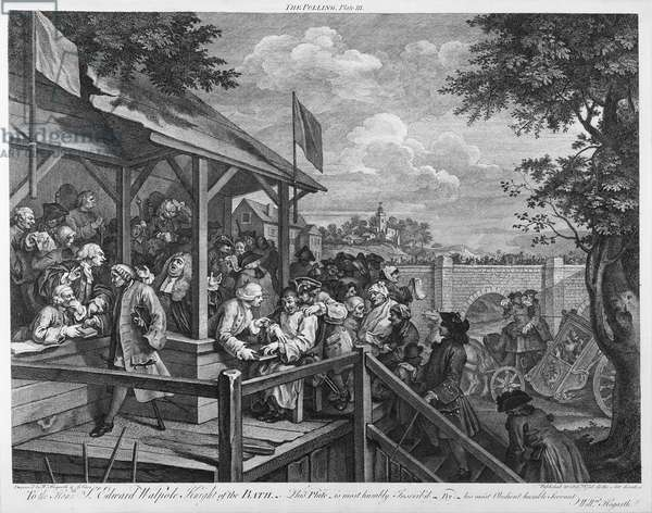 The Polling, 1758 (engraving)