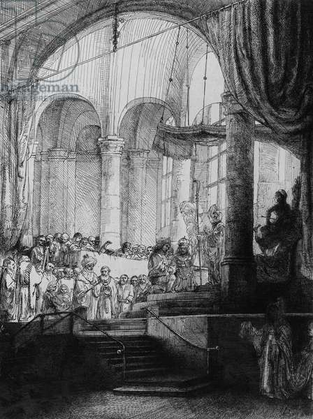 Medea, or the Marriage of Jason and Creusa, 1648 (etching & drypoint)