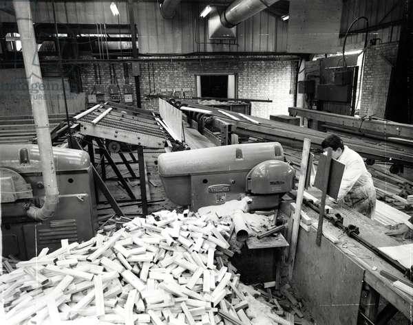 Woodworking, c.1960 (b/w photo)