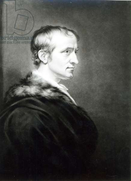 William Godwin (1756-1836) 1802 (oil on canvas) (b&w photo)
