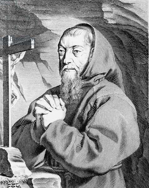R.P.Joseph of Paris, 1638 (engraving) (b/w photo)