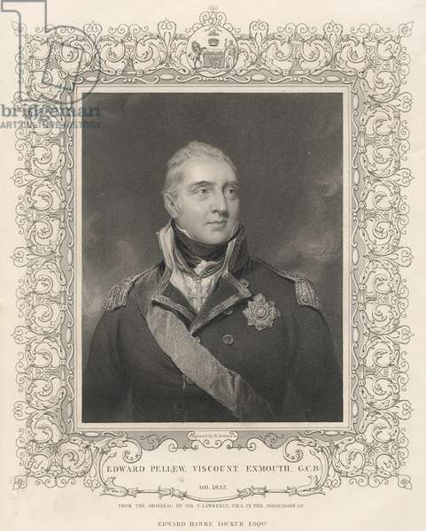 Admiral Sir Edward Pellew, c.1810 (engraving)