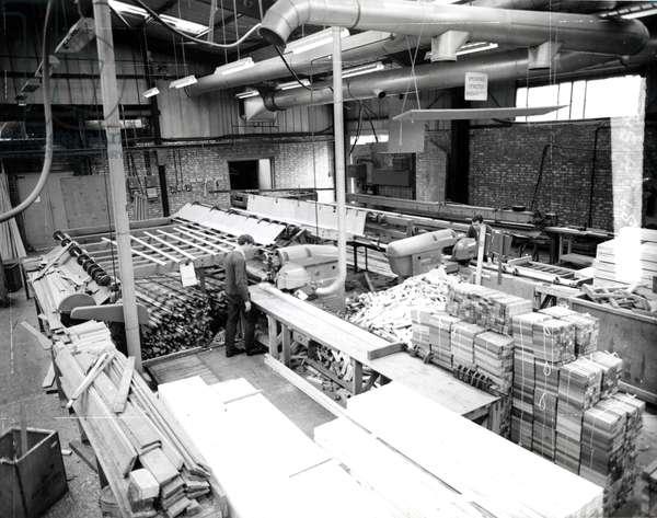 Woodworks, c.1960 (b/w photo)