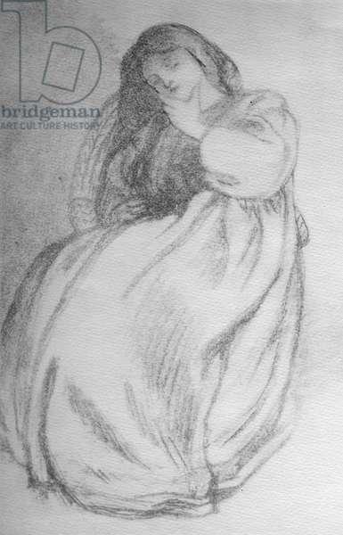 Elizabeth Siddal, c.1853 (graphite on paper)