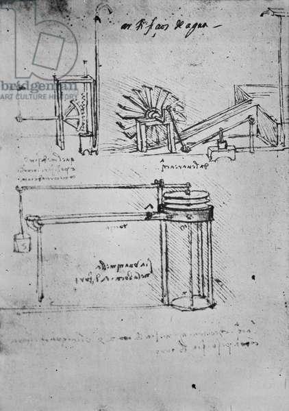 Fol. 53 (verso), Manuscript B, 1488-89 (pen & ink on paper)
