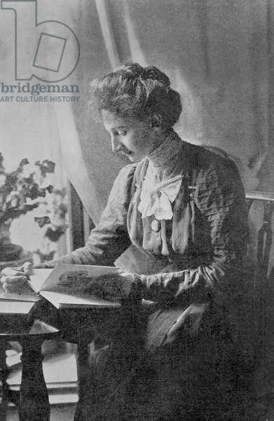 Constance Lytton, c.1910 (b/w photo)