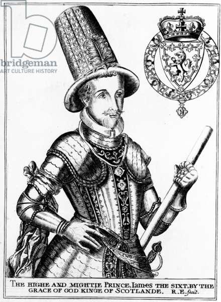 James VI, c.1800 (engraving)