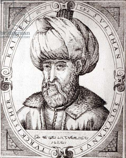 Portrait of Suleiman the Magnificent (engraving)